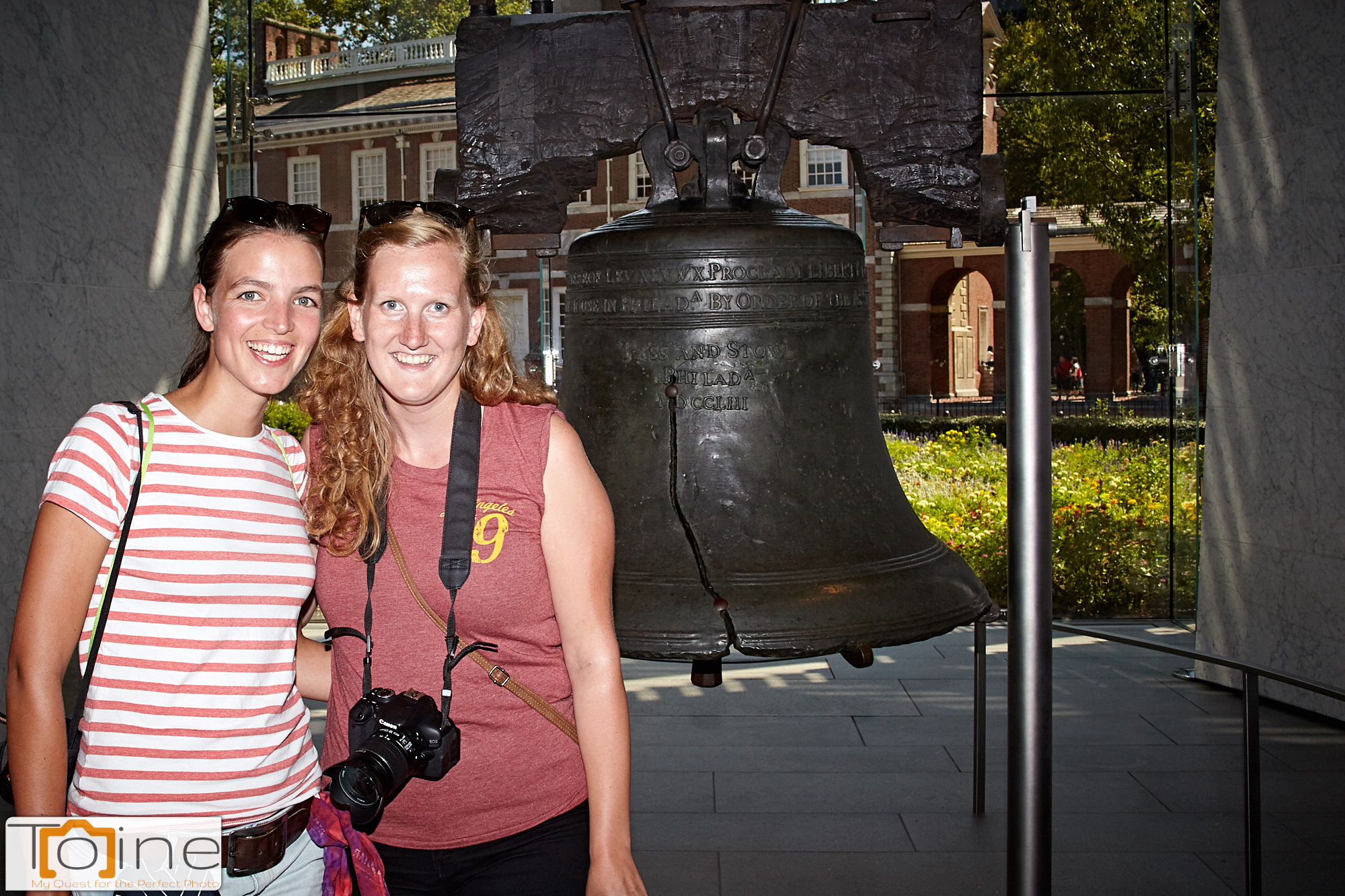 It wouldn't be a visit to Philadelphia without going to see the Liberty Bell!