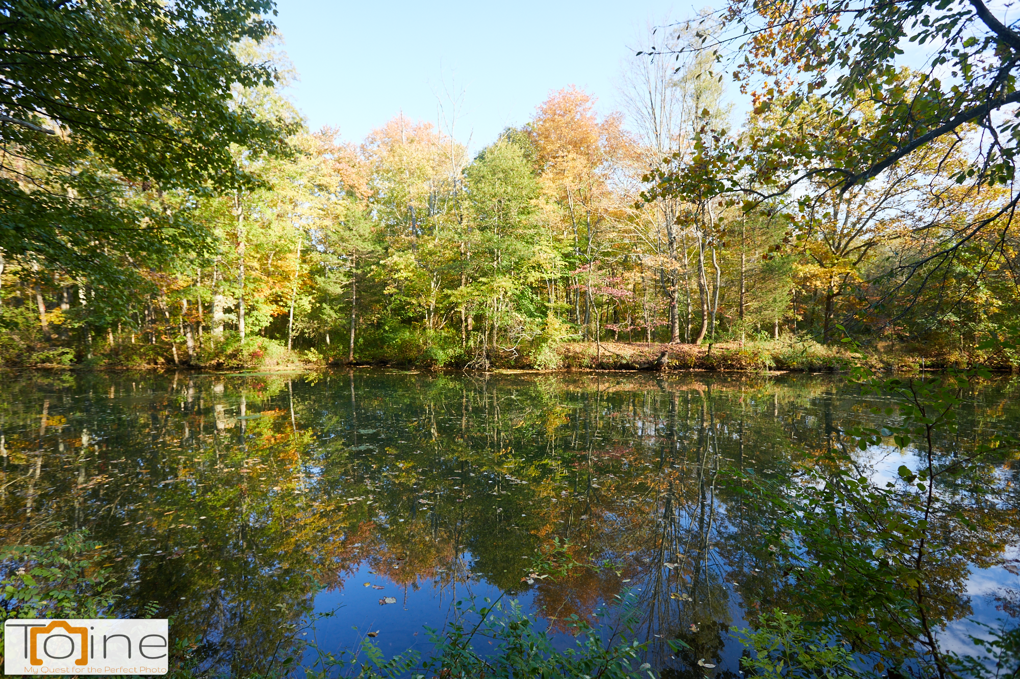While visiting the Delaware and Raritan Canal State Park, we walked by the canal, loving the weather, and the scenery.